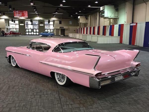 1958 Cadillac Coupe De Ville - Back