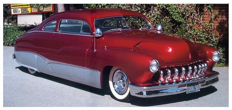 "Zocchi's ""Cool 50"" 1950 Mercury"